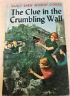 Nancy Drew Crumbling Wall FIRST EDITION Yellow Spine YS PC
