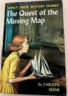 Nancy Drew FINE Missing Map Intro 2nd Art FIRST EDITION Yellow Spine YS PC