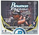 2014 Bowman Chrome Baseball Jumbo Box