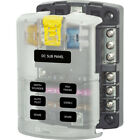Blue Sea Systems 5025 6 Gang Fuse Block St Ato Atc Negative Bus And Cover