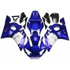 DS Plastic Blue White Injection Fairing Fit for Yamaha 1998-2002 YZF-R6 h01g