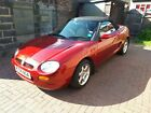 CLASSIC 1997 18 MG MGF CONVERTIBLE SPORTS CAR  NOW UNDER OFFER