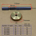 Replacement Teeth Brass Worm Gear And Steel Set Parts Shaft For Drive Gearbox