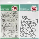Avery Elle FALLING FOR YOU Clear Stamps Only OR Stamp and Die Bundle 2019