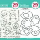 Avery Elle SNOW FUN Clear Stamps Only OR Stamp and Die Bundle 2019