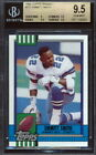 1990 Topps Traded #27T Emmitt Smith Rookie Card Graded BGS 9-9.5-9.5-9.5