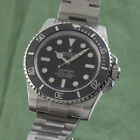 Rolex Submariner No Date Automatik Stahl Herrenuhr Ref. 114060 Full Set LC100