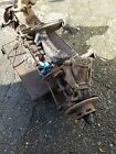 LARGER PHOTOS: Jaguar mk2 car parts front cradle with hubs and steering box