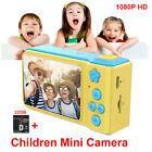 Portable Digital 1080P Cartoon Kid Video Camera Camcorder PC Cam w/ 32GB TF Card