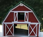 G SCALE BARN w BEAUTIFUL INTERIOR must see pics