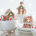 Raz Imports 325 Lighted Gingerbread House Ornament Set