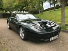 Ferrari 575M Manual Gearbox Colour Verde Zeltweg Nero Hide interior