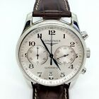 Longines Master Collection Ref L2.629.4 S/S Chronograph Automatic Men's Watch