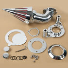 Spike Air Cleaner Intake Filter Fit For Harley Sportster XL883 1200 Custom 91 06