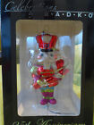 Christopher Radko Vintage Blown Glass Christmas Tree Ornament Nutcracker