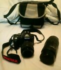 Pentax K-r Digital SLR Camera with  18-55mm Lens and 100 - 300 pentax zoom