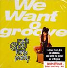 Rock Candy Funk Party-We Want Groove CD+DVD 2013 USA PRAR93549 NEW