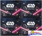 (4) 2016 Topps Star Wars Card Trader Factory Sealed 24 Pack HOBBY Box-Loaded!