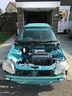 Honda Civic Aqua EK Unfinished Project Show Car