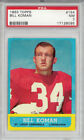 1963 Topps Football Cards 30
