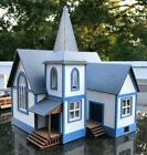G SCALE COUNTRY CHURCH CRAFTSMAN WOOD KITBEAUTIFUL