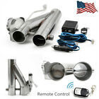 25inch 63mm Exhaust Control E cut Out Dual Valve Electric Y Pipe with Remote US