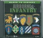 MARCH TO CADENCE - AIRBORNE & INFANTRY - 2002 CD - 27 Trax