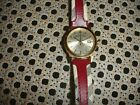 Burberry Gold Watch Red Band 38 MM