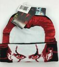 NWT Rare It Chapter Two Flip Down Beanie winter hat PennyWise the Clown