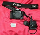 Canon DSLR Camera 450D. Body, charger and spare battery.