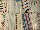 Choose One Vintage Retired Mrs Grossmans Stickers Strip Flowers Holiday Animal