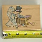 Stampendous 1996 Precious Moments Togetherness Rubber Stamp UP004