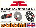 Kymco 125 Stryker (On Road) 1999-2003 [JT Black HDR] [Non O-Ring Chain Sprocket]