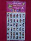 Rare 1977 The IN Shape 36 Puffy Stickers FULL Store Display SEALED OLD STOCK
