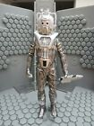 DOCTOR WHO FIGURE  CYBERMAN SILVER NEMESIS  SEVENTH DOCTOR COLLECTION