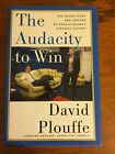 The Audacity To Win Signed David Plouffe Obama Campaign Manager