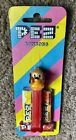 PEZ Retired Non-U.S. Pluto A - Movable Ears~Squarish Head-Mint Candy Stripe Card