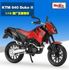 1:18 Maisto KTM DUKE 640 II Motorcycle Model Toy Red