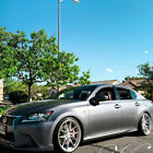 20 Vertini RFS18 Silver 20x9 20x10 Wheels Rims Fits Lexus GS200 GS350 GS450