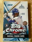 2019 TOPPS CHROME BASEBALL HOBBY BOX (24 PACKS)