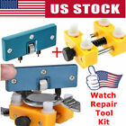 Watch Back Case Cover Opener Remover Adjustable Holder Wrench-Repair Tools USA