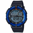 Casio SGW-600H-2A Digital Compass Thermometer, Resin Watch, 5 Alarms, World Time
