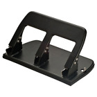 Officemate Paper Puncher 3 Three Hole Punch Heavy Duty 30 Sheet Office Tools New