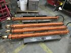 Large Heavy Duty Hydraulic Cylinders Approximately 6 foot long 4 Available