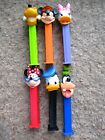 PEZ Retired Extreme Disney Complete 6/Set-Mickey~Minnie~Donald~Daisy~Pluto~Goofy