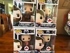 Funko Pop NHL lot of Canadian Exclusives GRETZKY, BURNS , and both MCDAVID