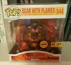 Funko POP EXCLUSIVE CHASE Red Scar w Flames #544 Disney Lion King Figure