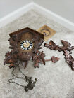 Large German 8 Day BLACK FOREST CUCKOO CLOCK *NICE*