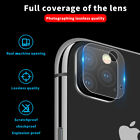 For iPhone 11 Pro 11 Pro Max Camera Lens Tempered Glass Protector Cover Film Fix