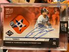 2019 Topps NOW 1006D Gleyber Torres New York Yankees AUTO RELIC 10 Autograph